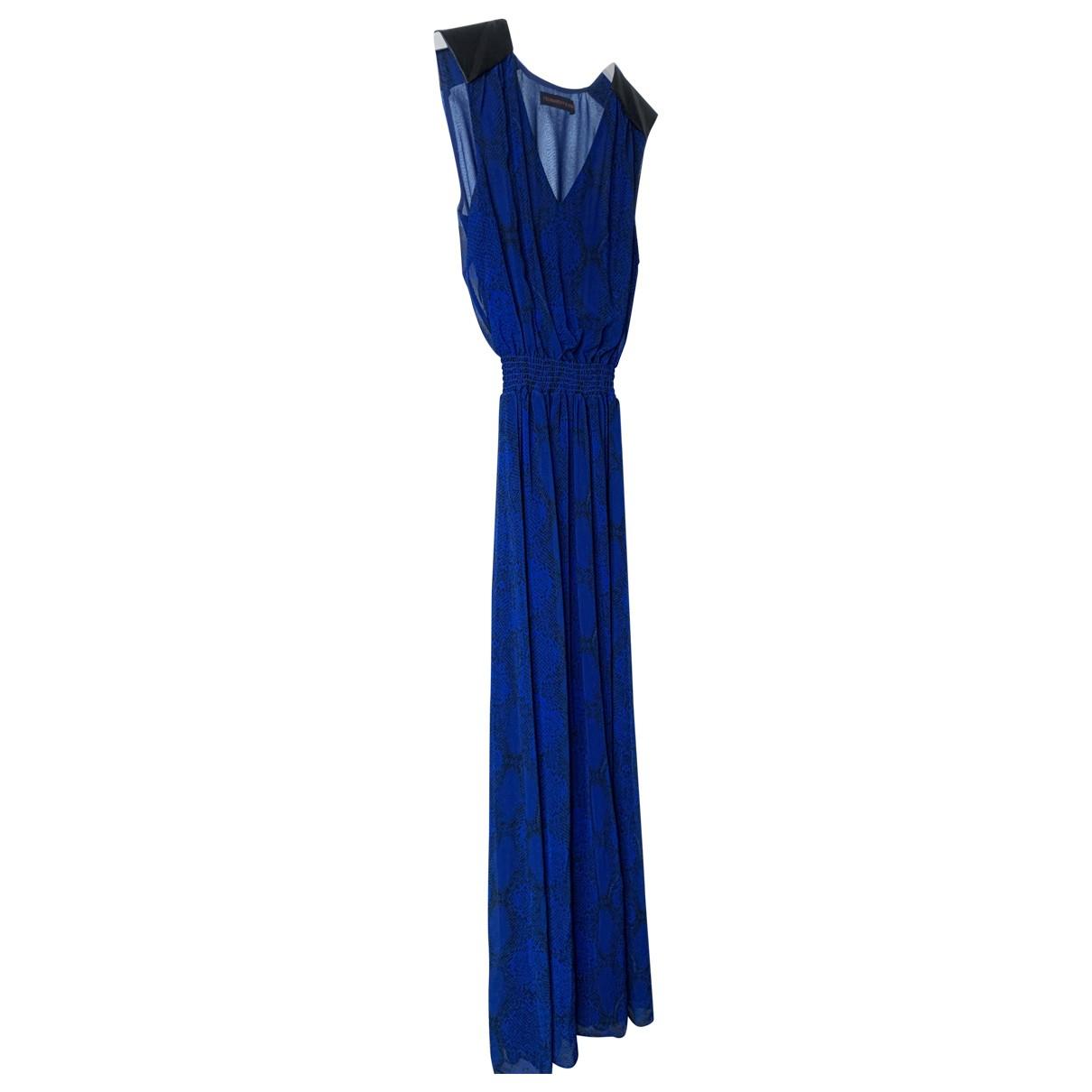 Trussardi Jeans \N Kleid in  Blau Polyester