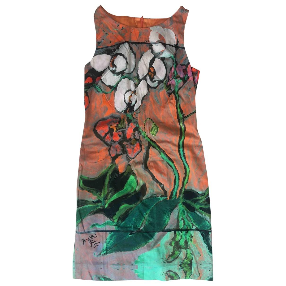 Liberty Of London \N Cotton - elasthane dress for Women 8 UK