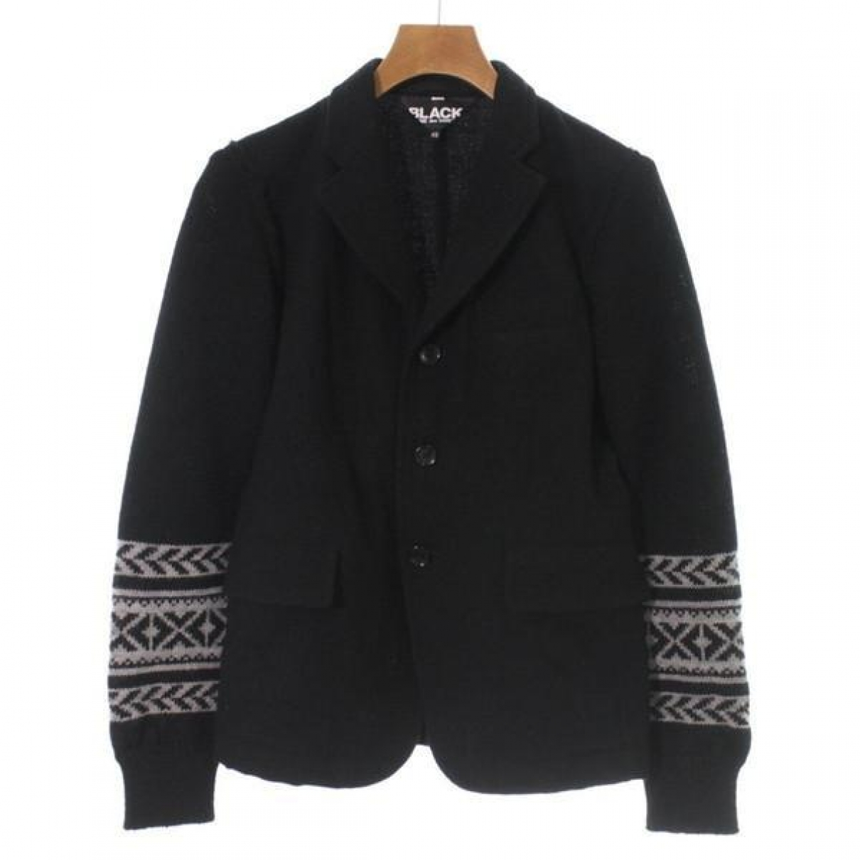 Comme Des Garcons \N Black Wool jacket for Women XS International