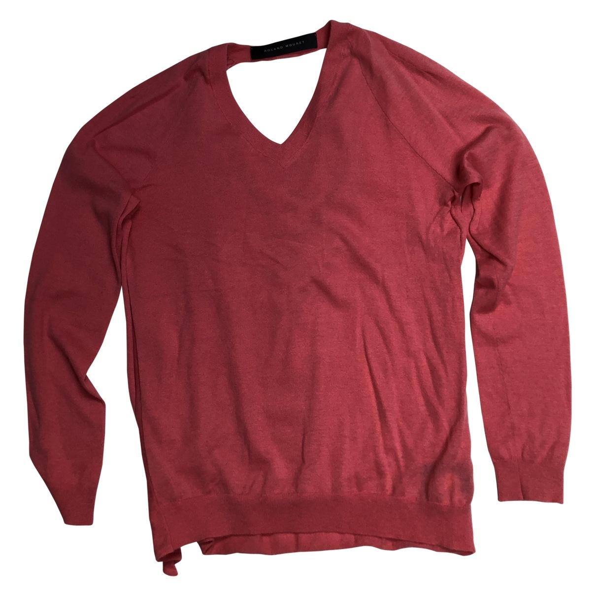 Roland Mouret \N Pink Cashmere Knitwear for Women 10 UK