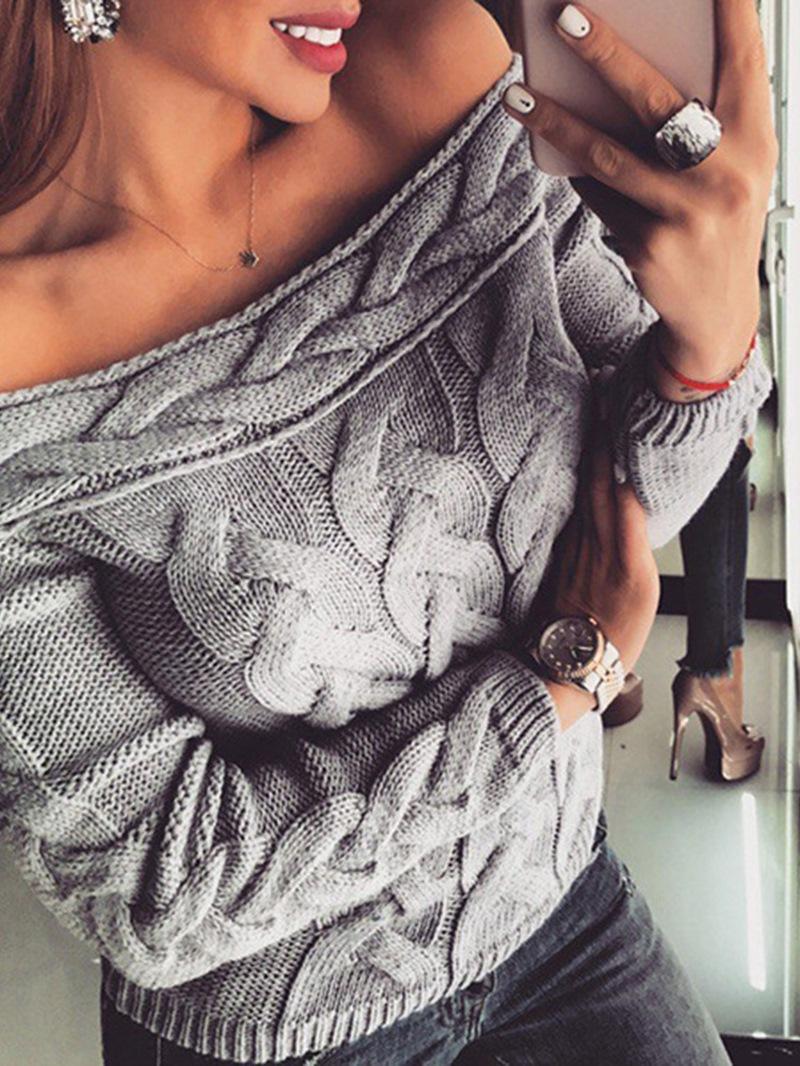 Ericdress Thin Backless Regular Loose Standard Sweater