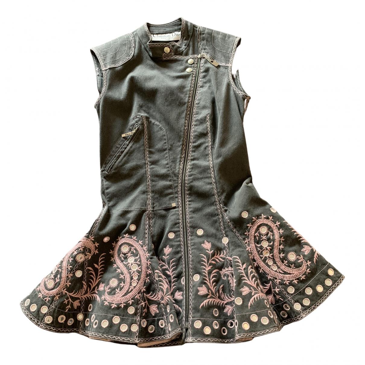 Dior - Veste   pour femme en denim - gris