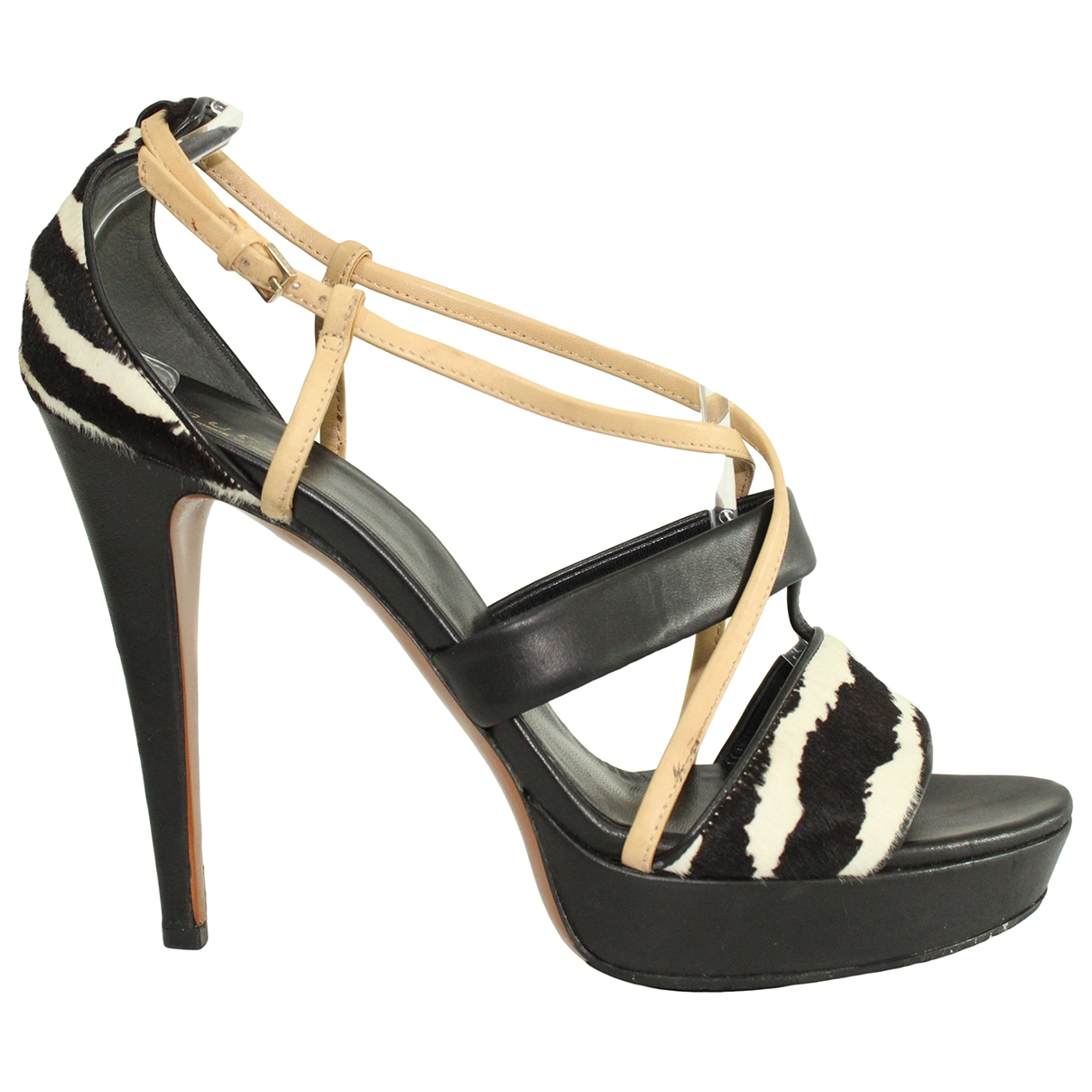 Gucci \N Black Leather Sandals for Women 40 EU