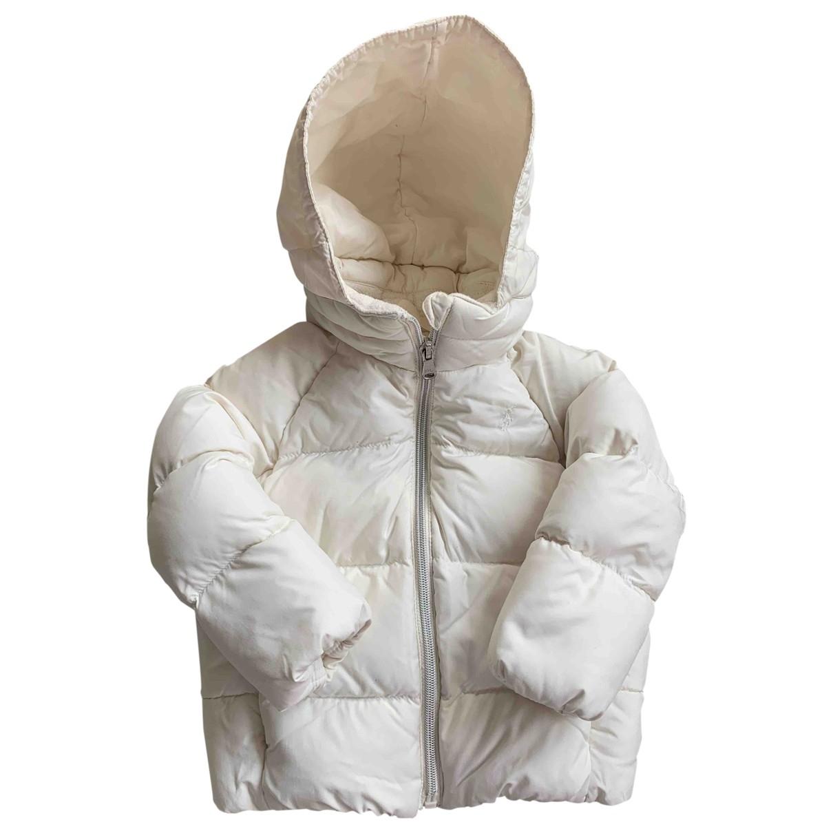 Ralph Lauren \N White Fur jacket & coat for Kids 2 years - until 34 inches UK
