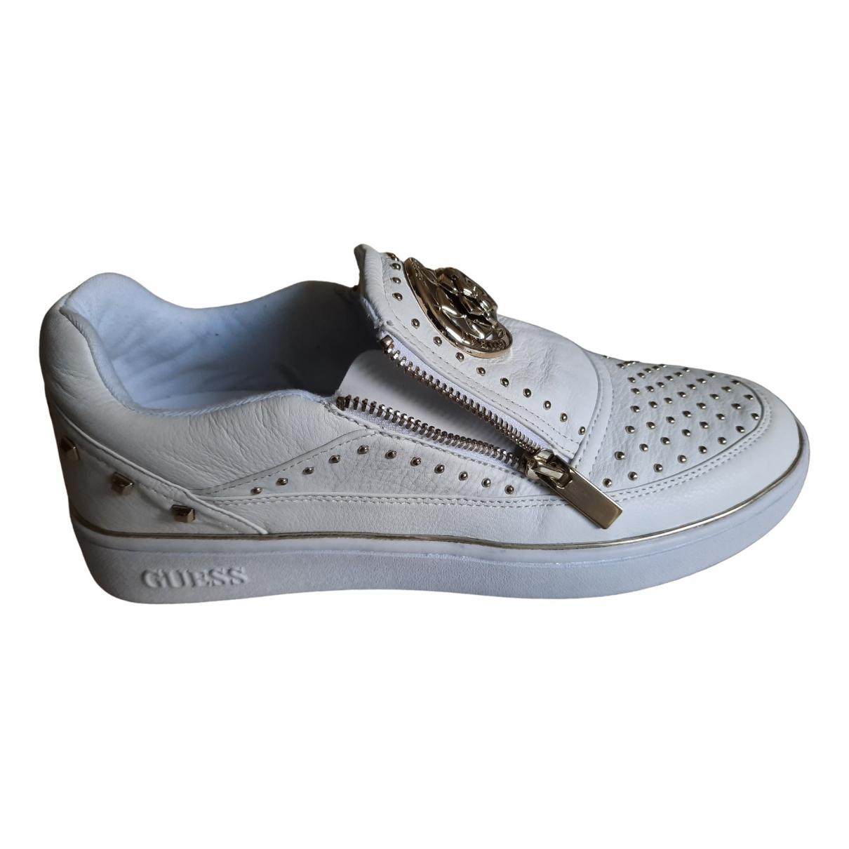 Guess \N Sneakers in  Beige Leder