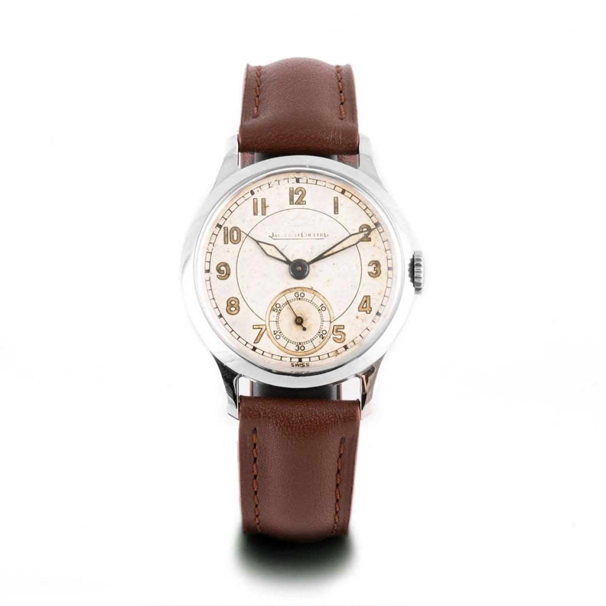 Jaeger-lecoultre Vintage Uhr in  Beige Stahl