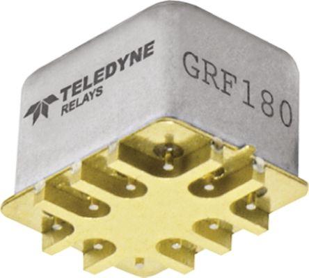 Teledyne SMT RF latch relay,c-grid,DPDT,6GHz,5Vdc