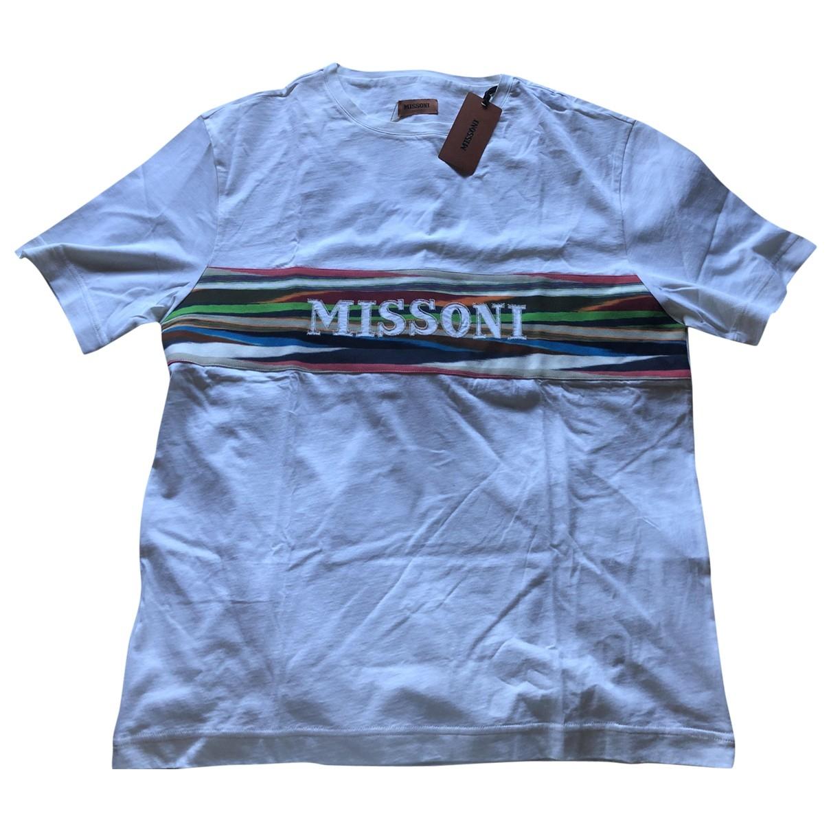 Missoni \N T-Shirts in  Weiss Baumwolle