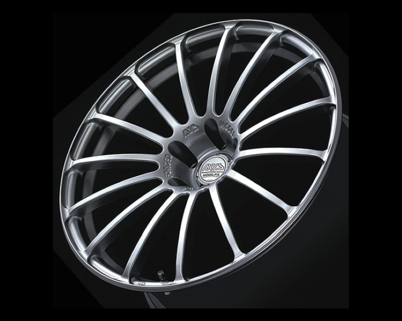 AVS Model F15 Wheel 19x9.5 5x112 35mm Platinum Silver