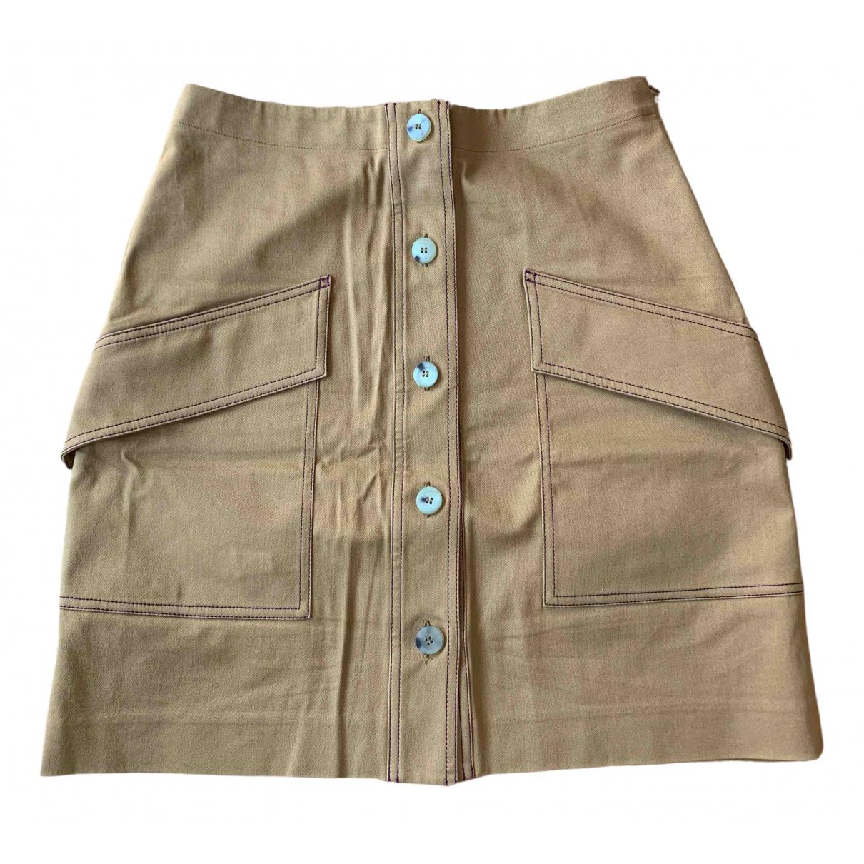 Acne Studios \N Brown Cotton skirt for Women 38 FR