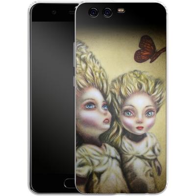 Huawei P10 Silikon Handyhuelle - Two Sisters von Tiago Azevedo