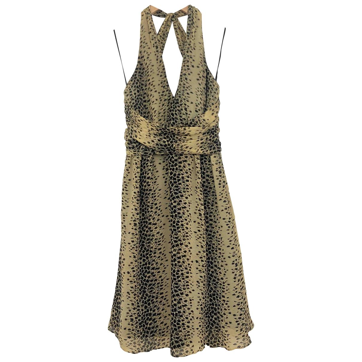 Guess \N Kleid in  Bunt Baumwolle