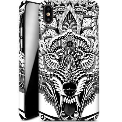Apple iPhone XS Max Smartphone Huelle - Wolf Head von BIOWORKZ