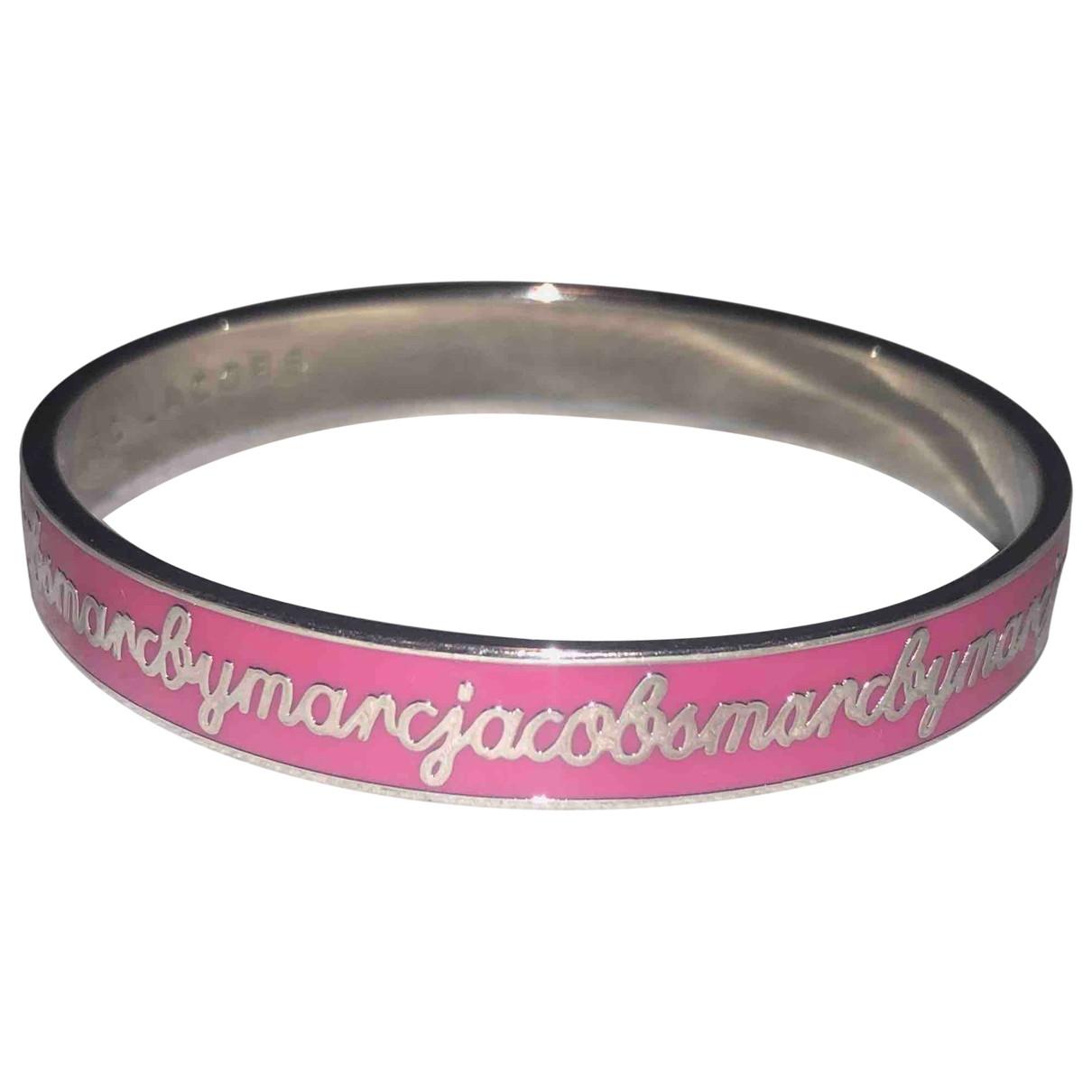 Marc By Marc Jacobs - Bracelet   pour femme en metal - rose