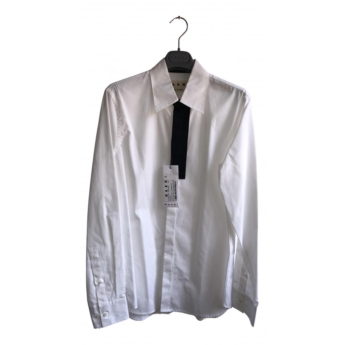 Marni \N White Cotton Shirts for Men L International