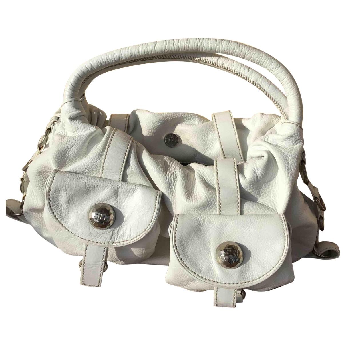 Sonia Rykiel \N White Leather handbag for Women \N
