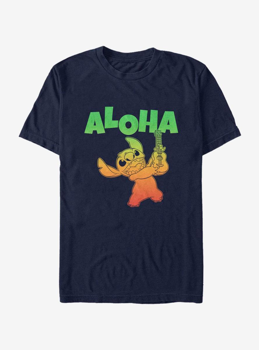 Disney Lilo And Stitch Aloha T-Shirt