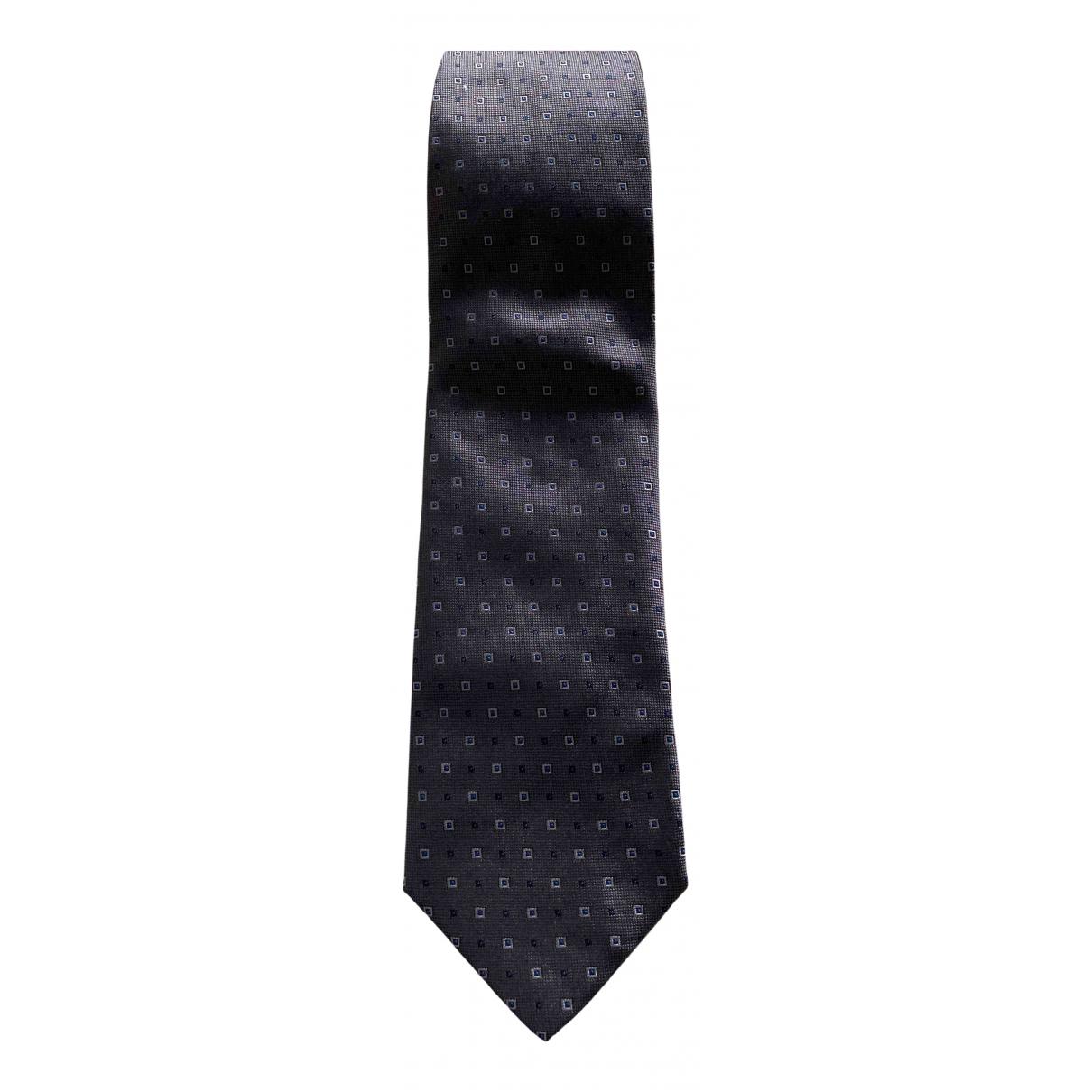 Burberry - Cravates   pour homme en soie - anthracite