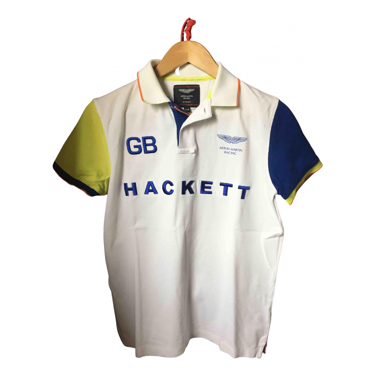 Hackett London N White Cotton Polo shirts for Men XS International