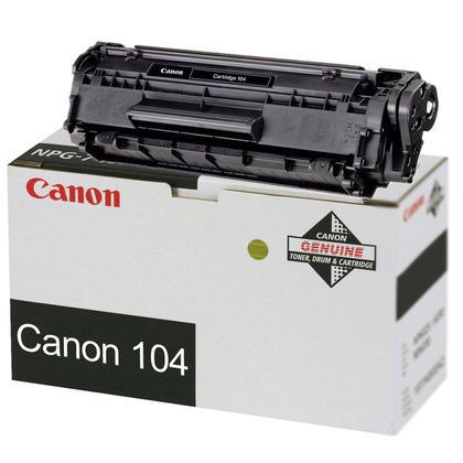 Canon 104 0263B001AA Original Black Toner Cartridge