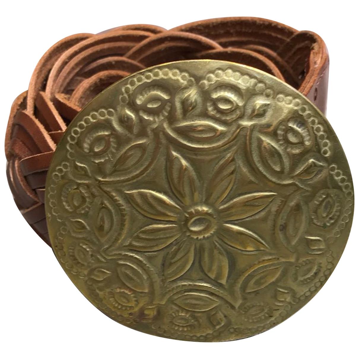 Ralph Lauren \N Brown Leather belt for Women M International