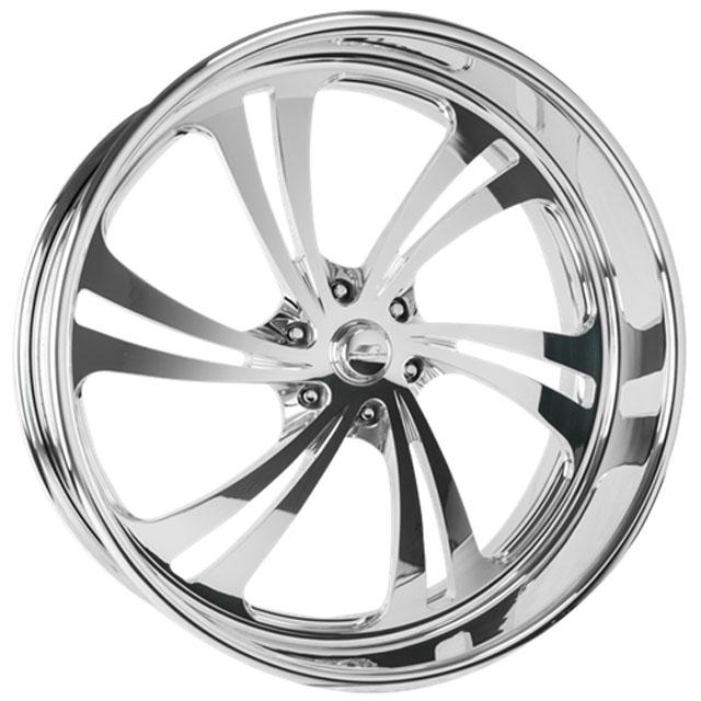 Billet Specialties SLG56811Custom Sweep 6 Wheel 18x11
