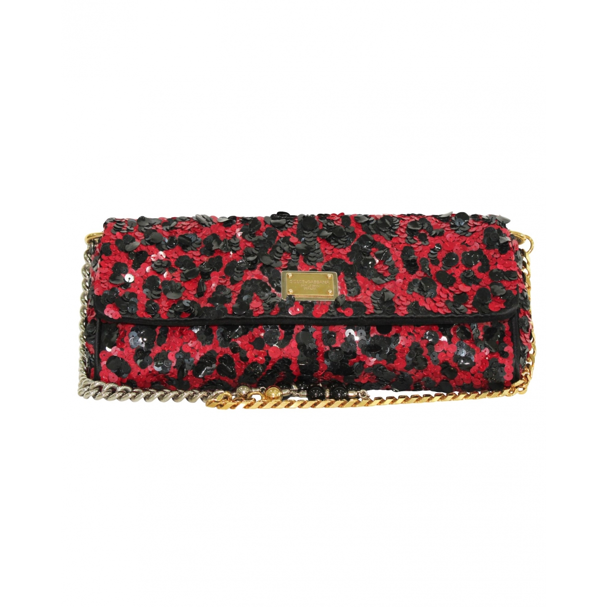 Dolce & Gabbana \N Red Glitter Clutch bag for Women \N