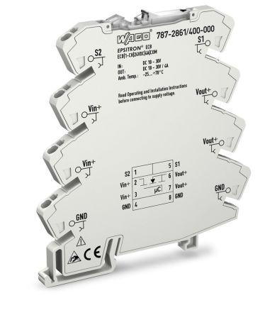 Wago 787-2861/400-000, 4 A, DIN Rail Mount 30V 787-2861, 1 channels Electronic Circuit breaker