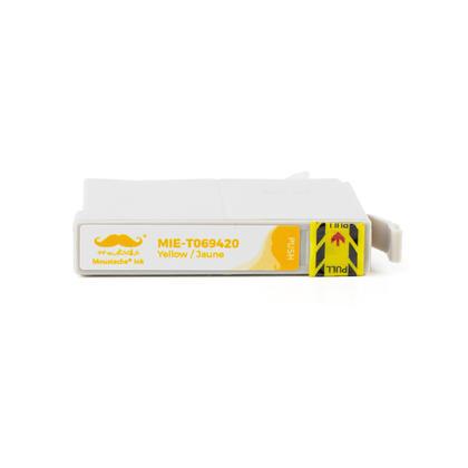 Compatible Epson Stylus NX510 cartouche d'encre jaune de Moustache