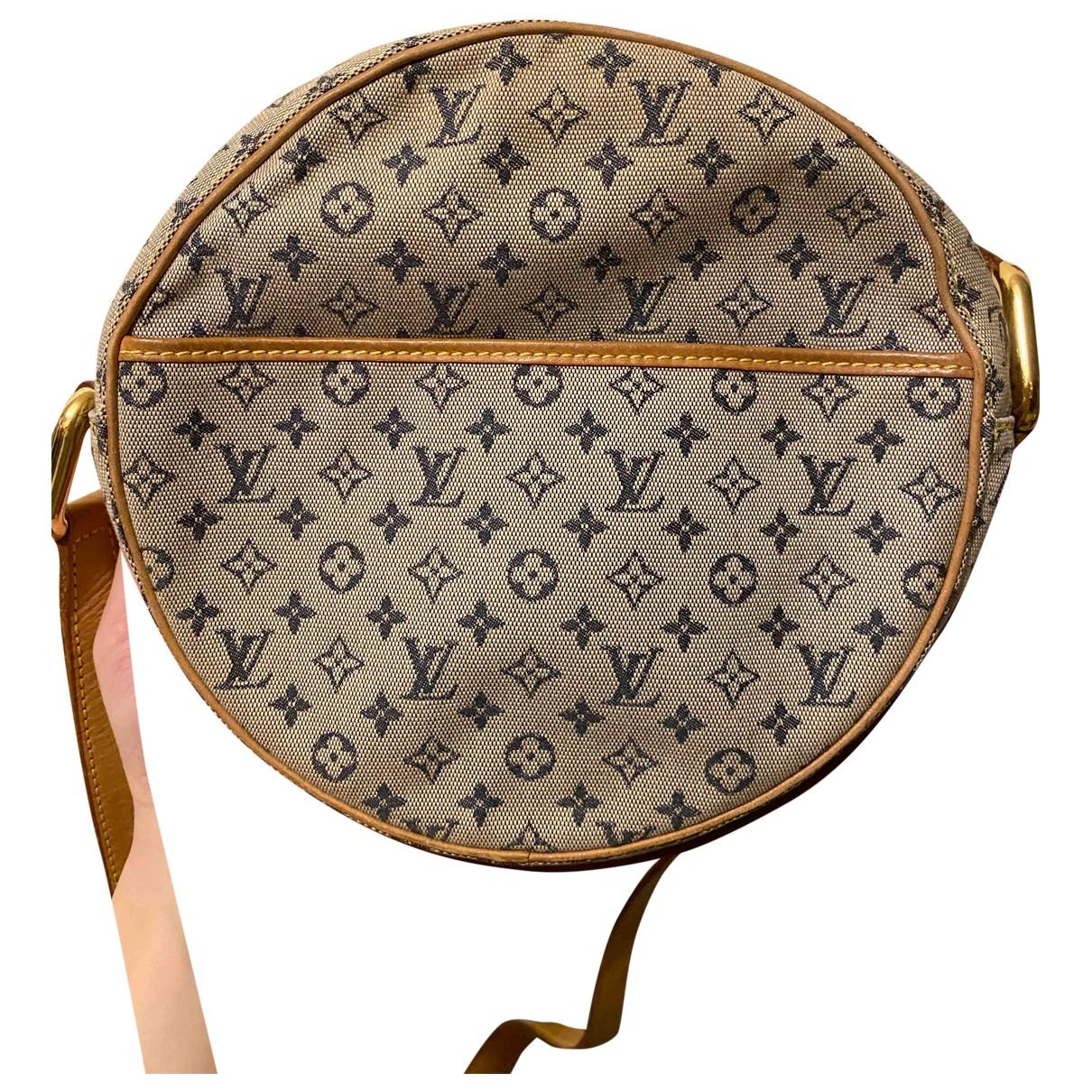 Louis Vuitton \N Blue Cloth handbag for Women \N