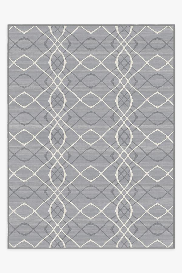 Washable Rug Cover | Amalia Grey Rug | Stain-Resistant | Ruggable | 9'x12'