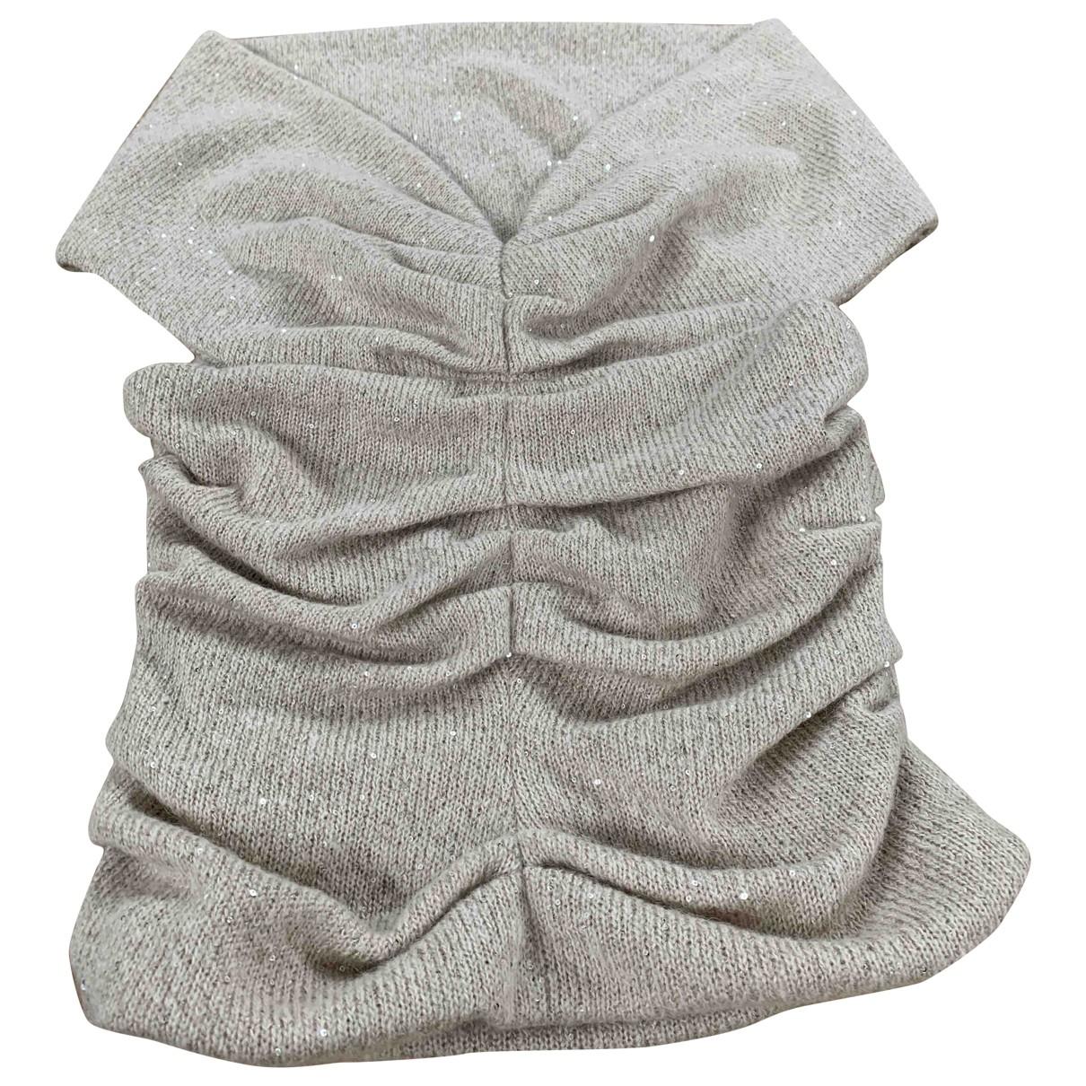 Talbot Runhof \N Beige Wool  top for Women 38 IT