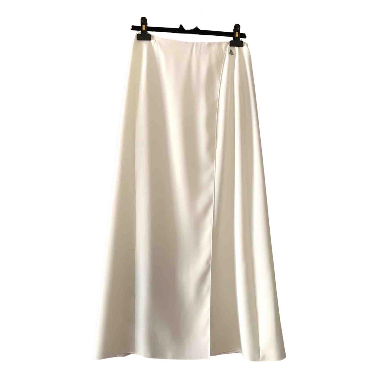 Chanel \N White Wool skirt for Women 40 FR