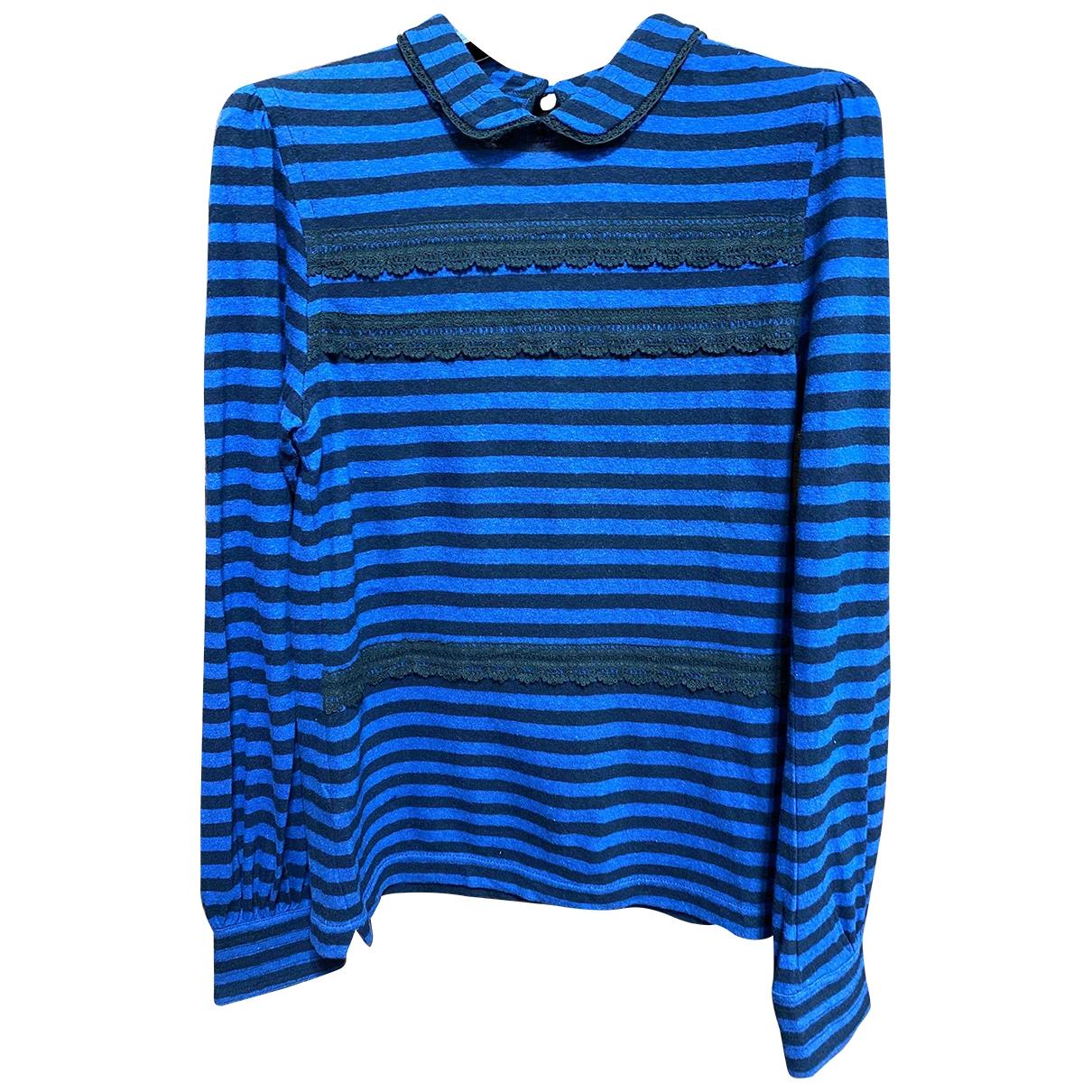 Luella - Pull   pour femme en coton - bleu