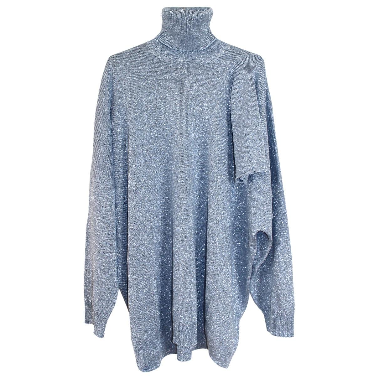 Raf Simons \N Pullover.Westen.Sweatshirts  in  Blau Viskose
