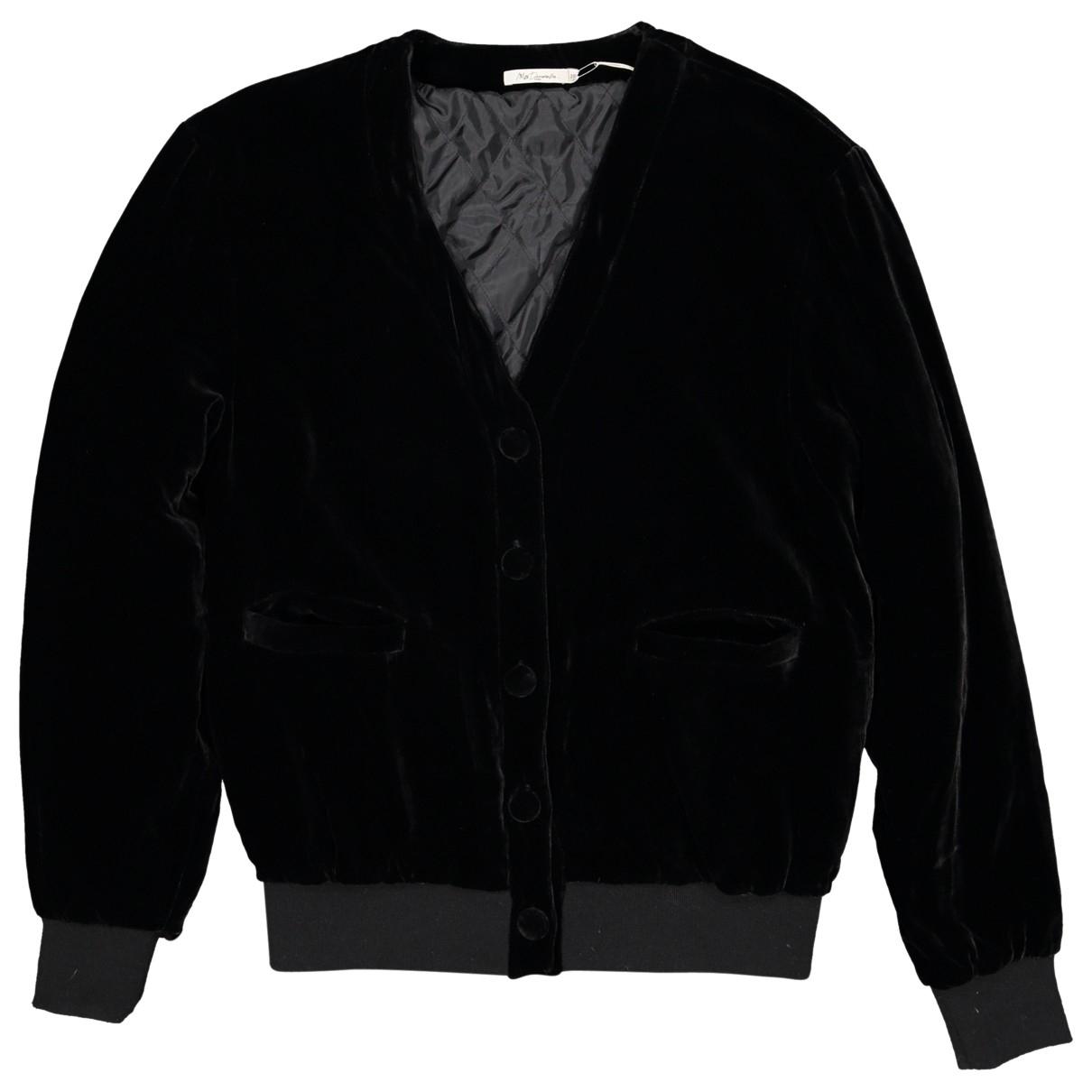 Mes Demoiselles ... - Veste   pour femme en velours - noir