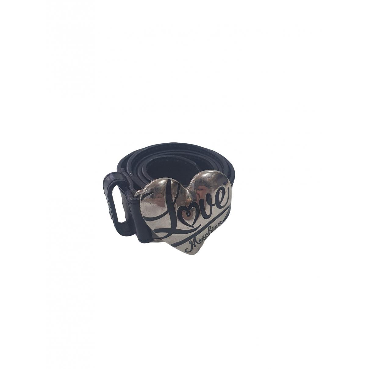 Cinturon de Cuero Moschino Love