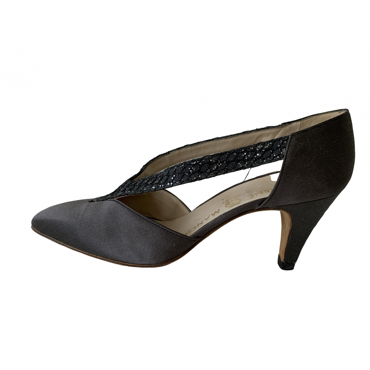 Non Signé / Unsigned \N Grey Cloth Heels for Women 37 IT