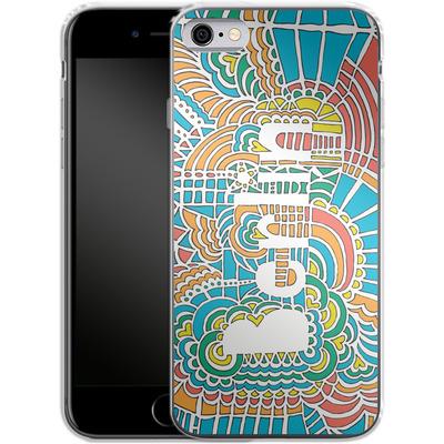 Apple iPhone 6s Silikon Handyhuelle - Berlin Blue von Kaitlyn Parker