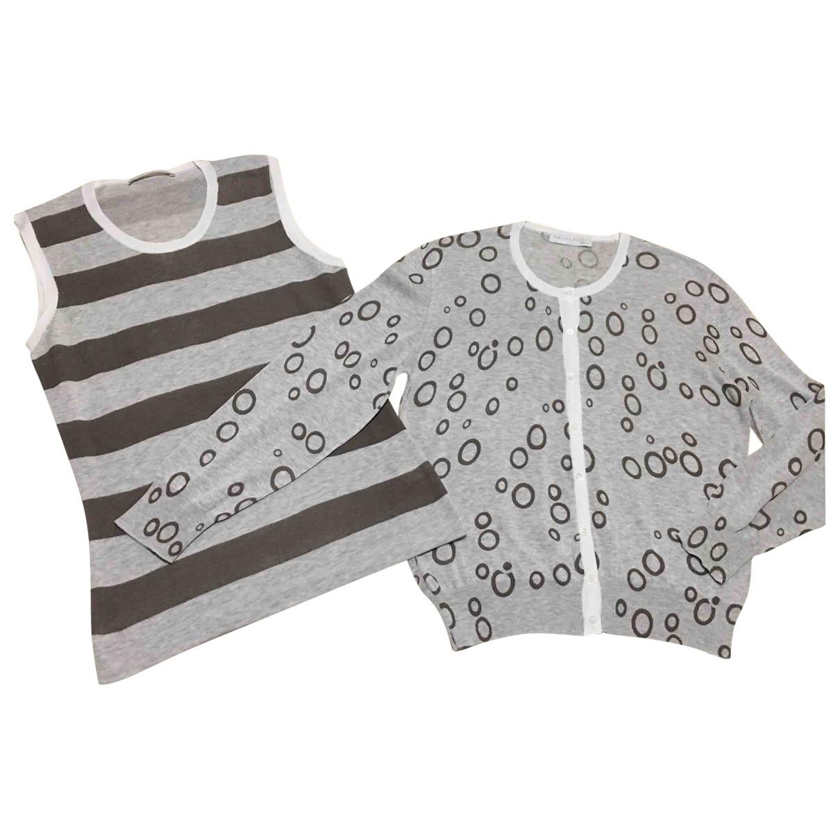 Fabiana Filippi \N Grey Cotton Knitwear for Women 44 IT