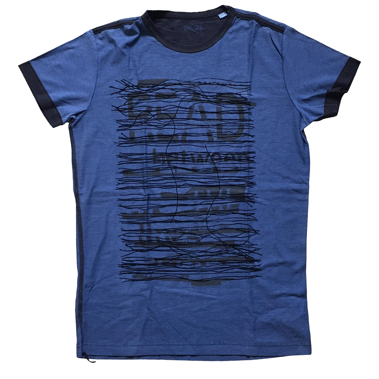 Diesel \N Blue Cotton T-shirts for Men L International
