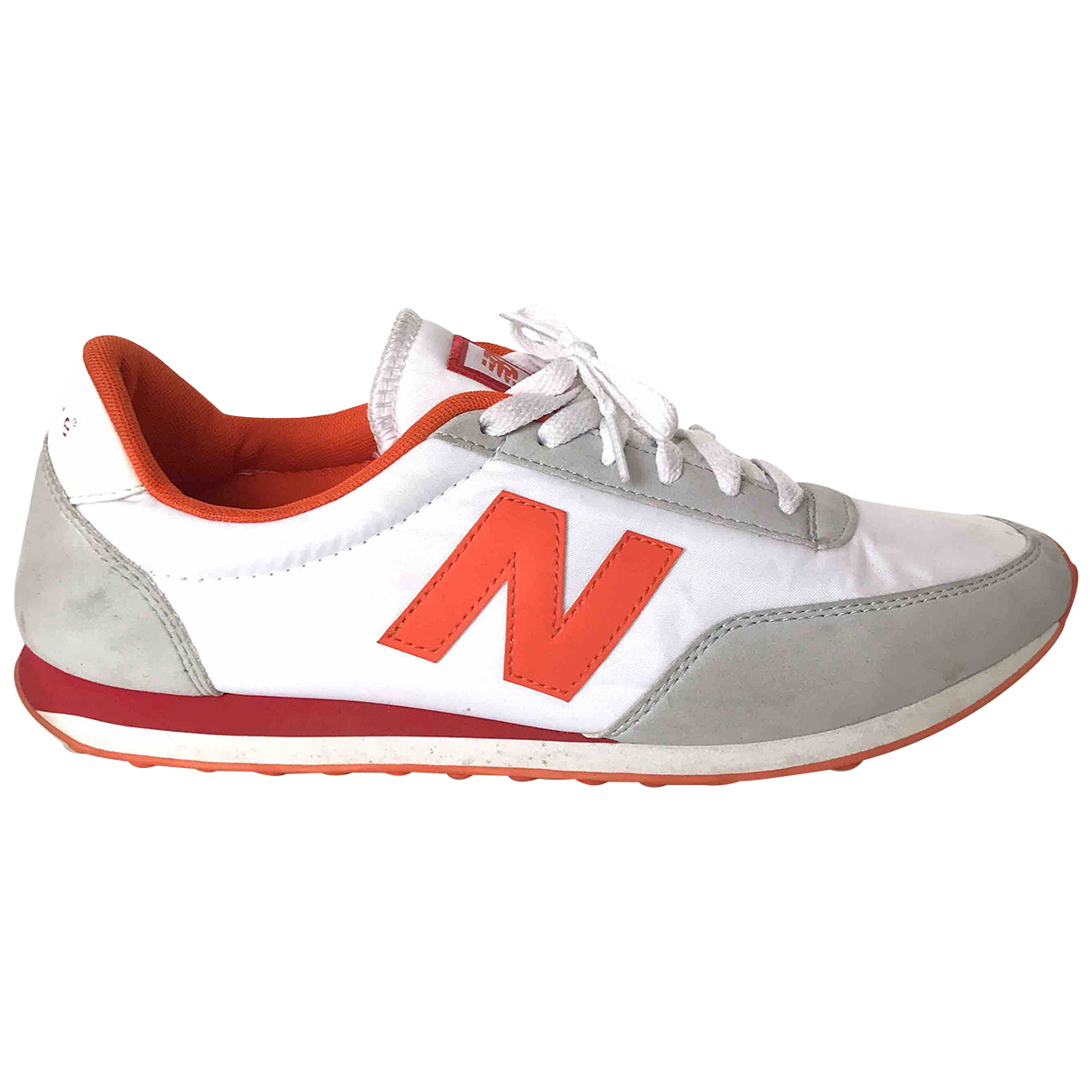 New Balance \N Sneakers in  Orange Polyester