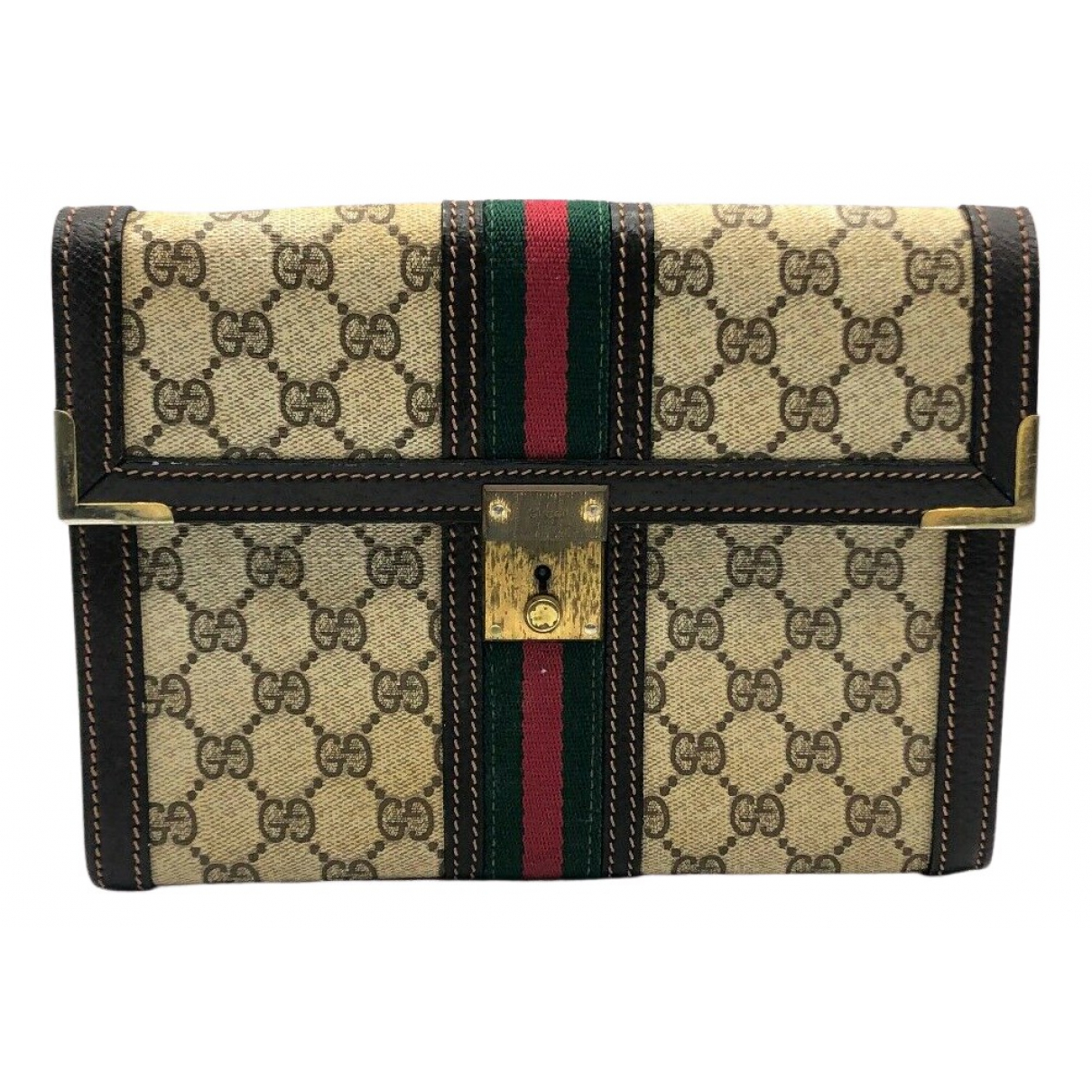 Gucci N Beige Cloth Clutch bag for Women N