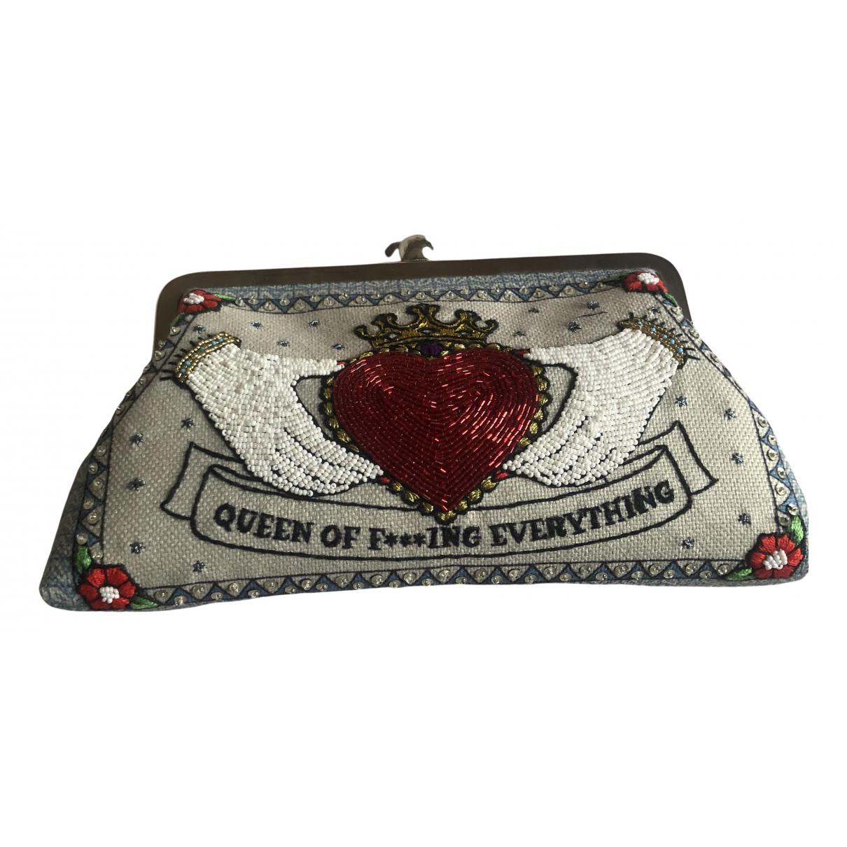 Sarahs Bag \N Handtasche in Mit Pailletten
