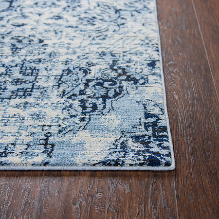 Rizzy Home Panache Collection Hope Floral Rectangular Rugs, One Size , Beige