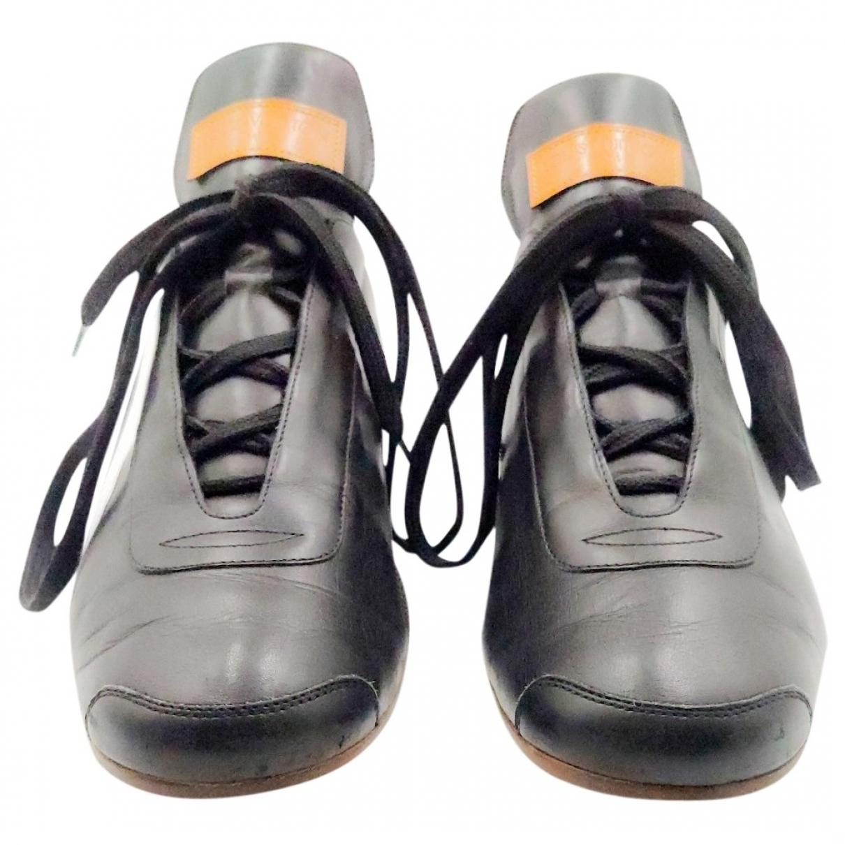 Louis Vuitton LV Trainer Black Leather Trainers for Men 7.5 UK