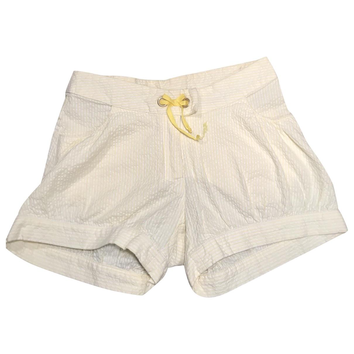 Dior - Short   pour enfant en coton - jaune