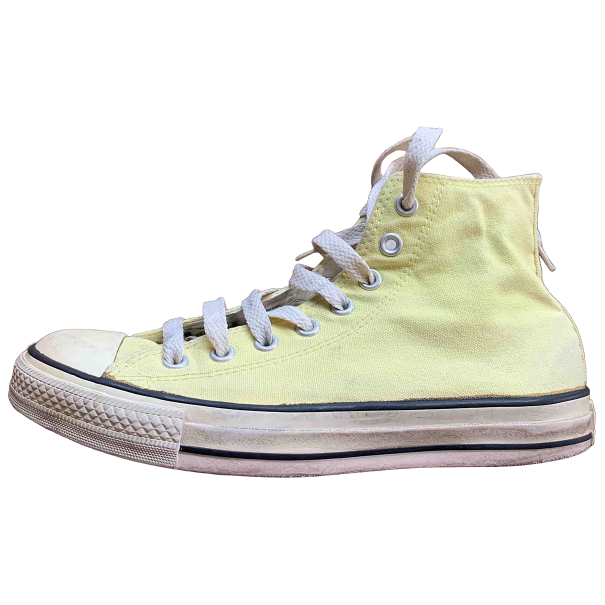 Converse \N Yellow Cloth Trainers for Women 40 EU