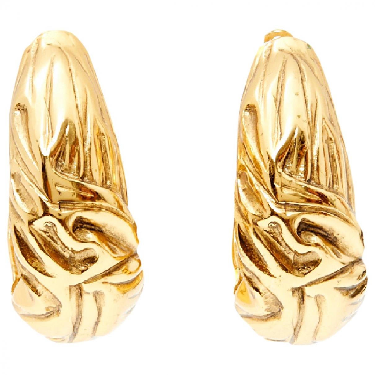 Goossens - Boucles doreilles   pour femme en metal - dore