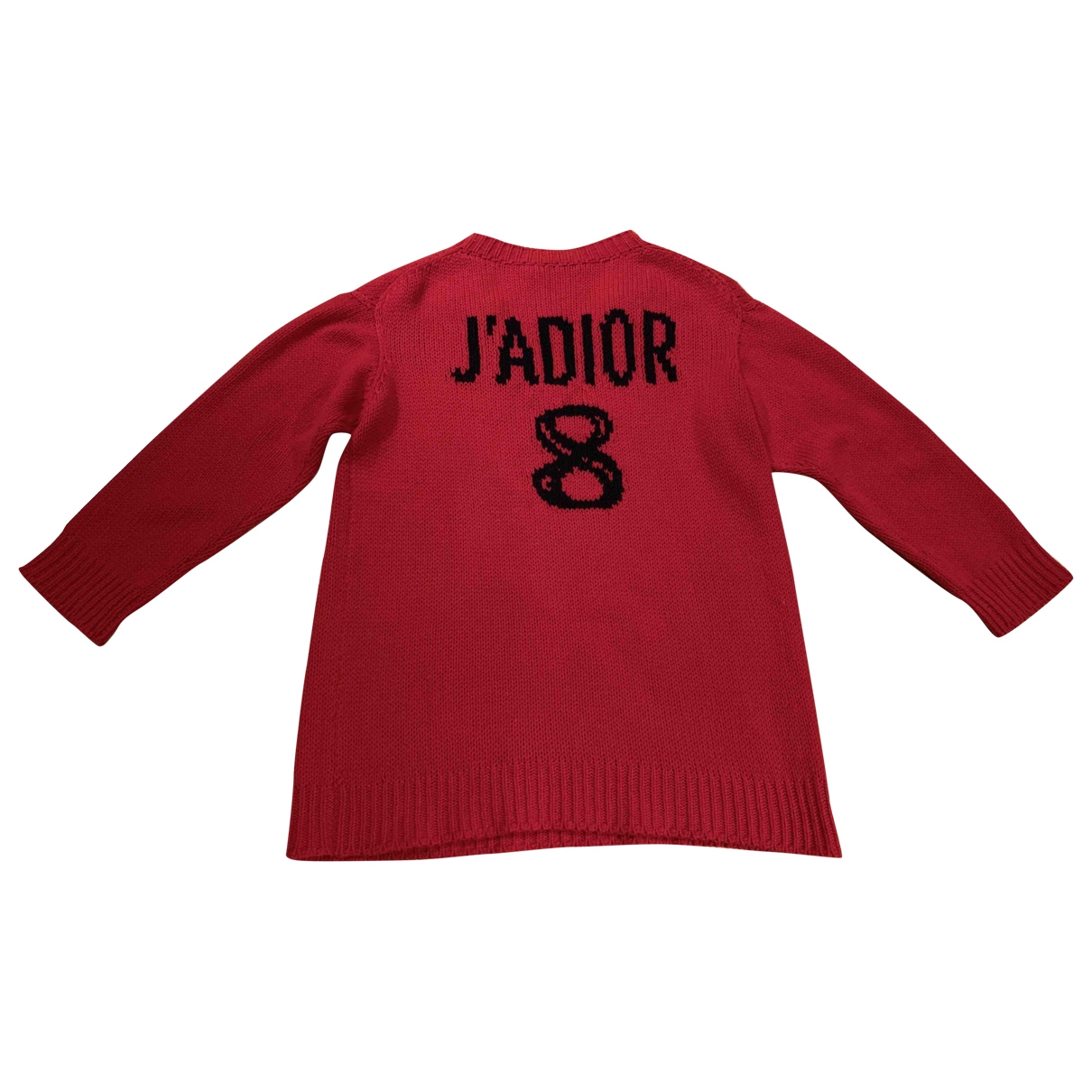 Dior \N Pullover in  Rot Wolle